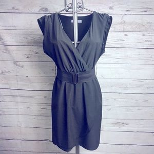 Renuar Black Belted Dress